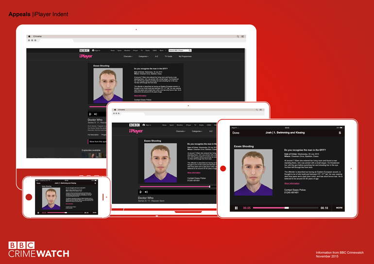 D&AD BBC Crimewatch – amberlouisemiller – Graphic Designer